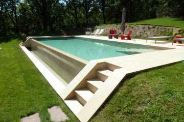 C mo hacemos nuestras piscinas pressing piscinas Piscinas alargadas y estrechas
