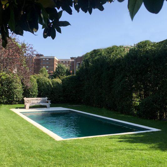 Piscina privada en Getxo