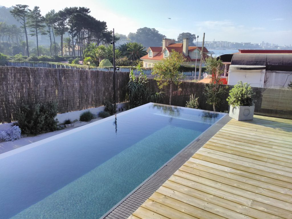Piscina privada en La Coruña